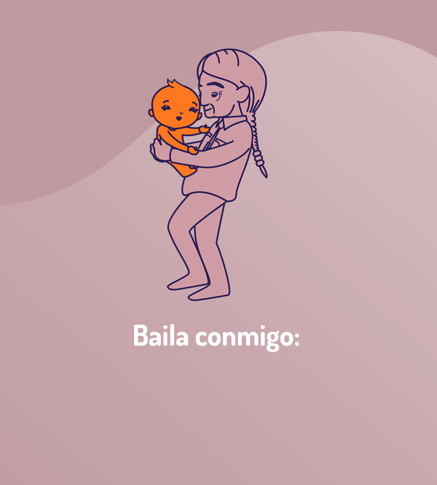 image of grandfather and child dancing exhibiting moments together