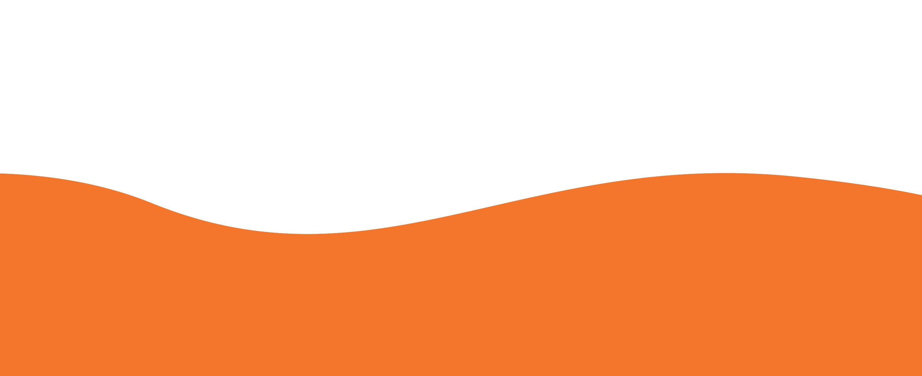 Decorative orange and white wavy background patten